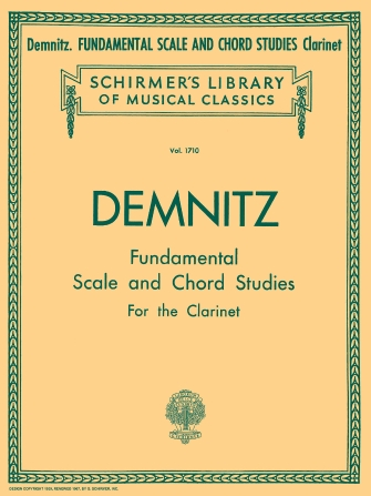 Fundamental Scale and Chord Studies pro klarinet