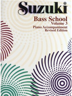Suzuki Bass School Volume 3 - Piano Accompaniment (Revised Edition)
