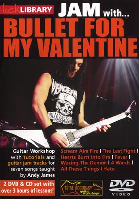 Lick Library: Jam With Bullet For My Valentine
