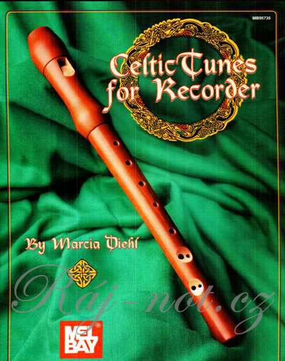 Celtic Tunes for Recorder - zobcová flétna