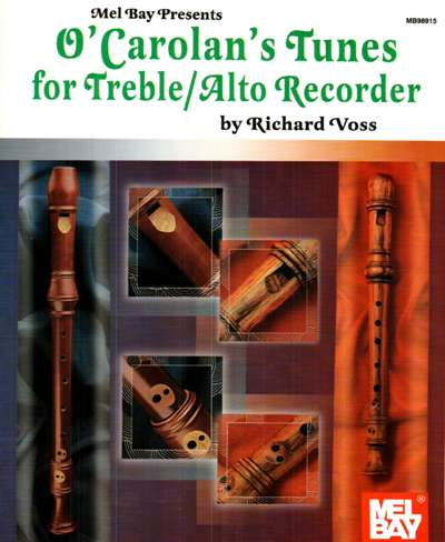 O'Carolan's Tunes For Treble/Alto Recorder