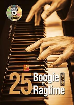 25 Boogie et Ragtime au Piano