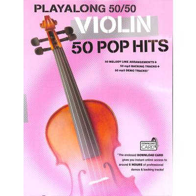 Playalong 50/50: pro housle - 50 Pop Hits