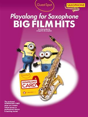 Guest Spot: Big Film Hits Playalong For Alto Sax