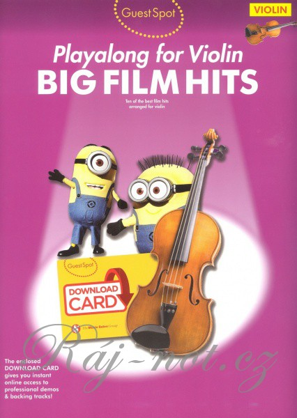 Guest Spot: Big Film Hits Playalong For Violin
