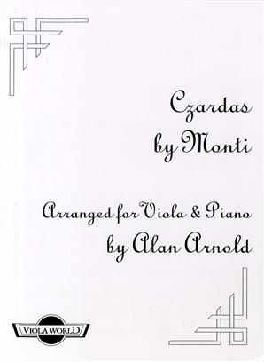 Czardas (Viola And Piano)