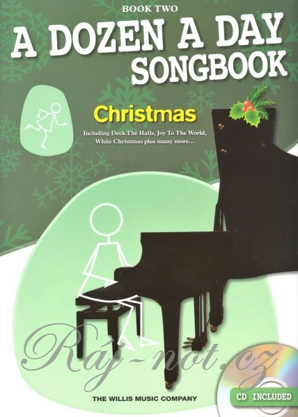 A Dozen A Day Songbook: Christmas (Book Two)