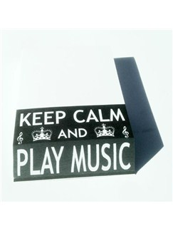 Little Snoring Gifts: Slant Pad - Keep Calm And Play Music