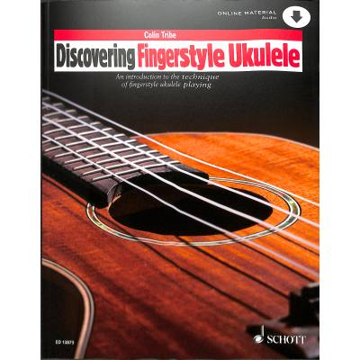 Discovering Fingerstyle Ukulele Vol.1 - An Introduction To The Technique Of Fingerstyle Ukulele Playing