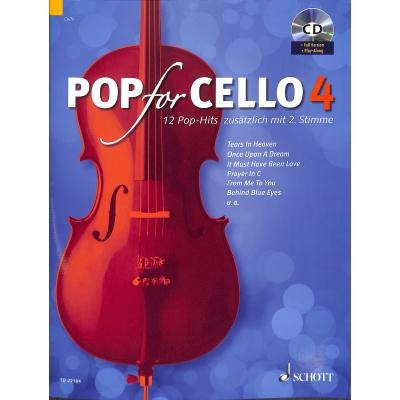 Pop For Cello 4 + CD - popové skladby pro 1-2 violoncella