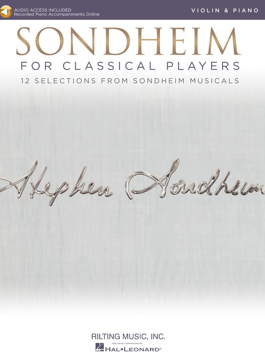 Sondheim For Classical Players - Violin - 12 Selections from Sondheim Musicals