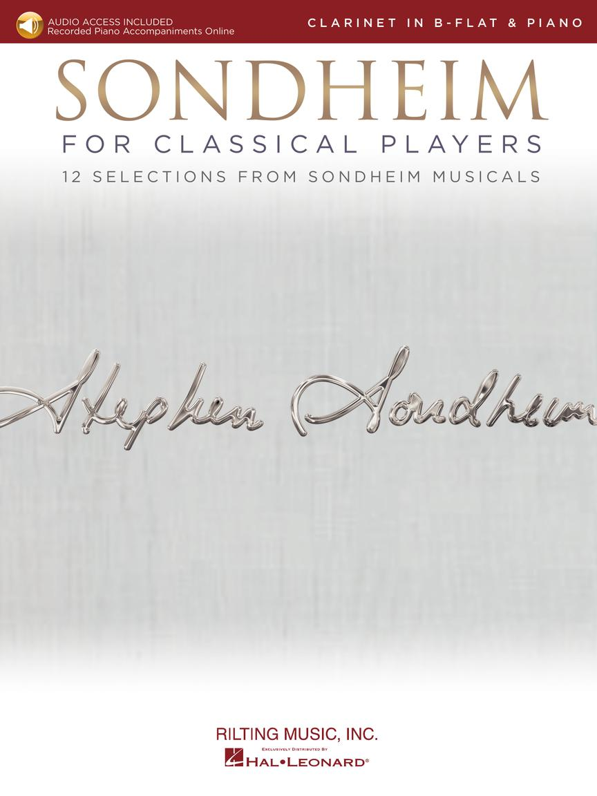 Sondheim For Classical Players - Clarinet - 12 Selections from Sondheim Musicals