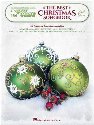 The Best Christmas Songbook  3rd Edition - E-Z Play Today Volume 164