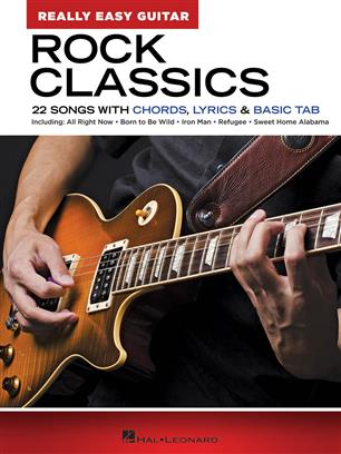 Rock Classics - Really Easy Guitar Series - 22 Songs with Chords, Lyrics & Basic Tab