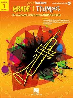 Gradebusters Grade 1 pro trubku 15 awesome solos from ABBA to Adele