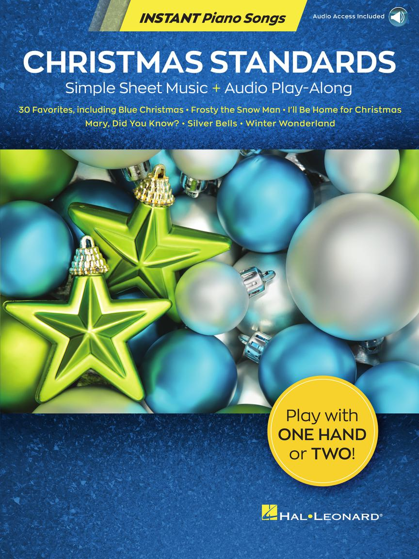 Christmas Standards - Instant Piano Songs - Simple Sheet Music + Audio Play-Along