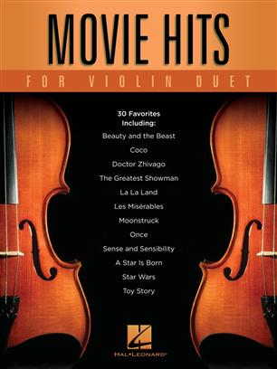 Movie Hits for Violin Duet - skladby pro dvoje housle