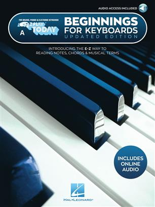 Beginnings for Keyboards - Updated Edition - E-Z Play Today Book A