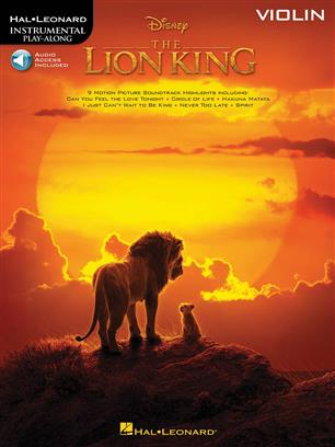 The Lion King pro housle Instrumental Play-Along