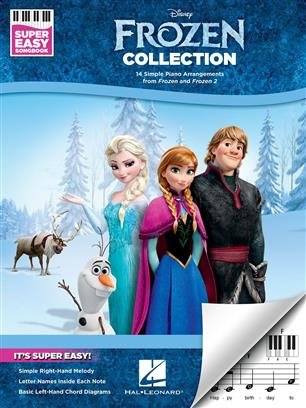 Frozen Ledové království 1 a 2 Collection - Super Easy Songbook