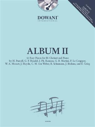 Album II - 12 Easy Pieces for Bb Clarinet and Piano