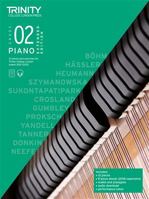 Piano Exam Pieces & Exercises 2021-2023: Grade 2 - Extended Edition