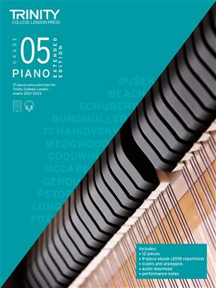 Piano Exam Pieces & Exercises 2021-2023: Grade 5 - Extended Edition