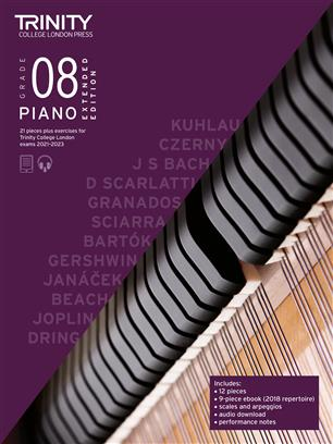 Piano Exam Pieces & Exercises 2021-2023: Grade 8 - Extended Edition