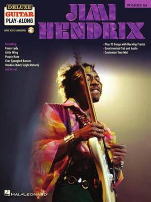 Jimi Hendrix - Deluxe Guitar Play-Along Volume 24