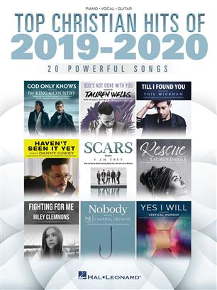 Top Christian Hits of 2019-2020 pro Piano, Vocal and Guitar