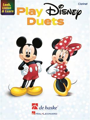 Look, Listen & Learn - Play Disney Duets - Clarinet