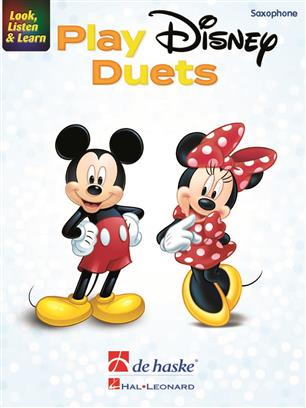 Look, Listen & Learn - Play Disney Duets - Saxophone