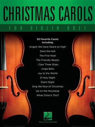 Christmas Carols for Violin Duet koledy pro dvoje housle