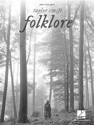 Taylor Swift - Folklore - Piano, Vocal and Guitar