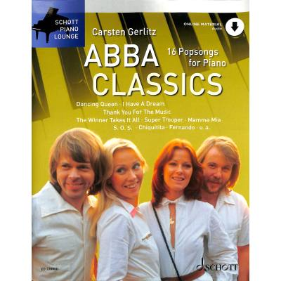 ABBA Classics - 16 Popsongs for Piano