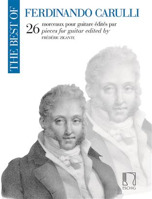 The best of Ferdinando Carulli - 26 morceaux pour guitare - 26 pieces for guitar
