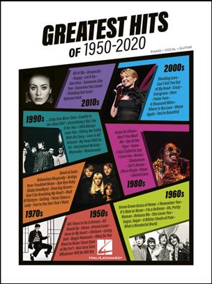 Greatest Hits of 1950-2020 pro Piano, Vocal and Guitar