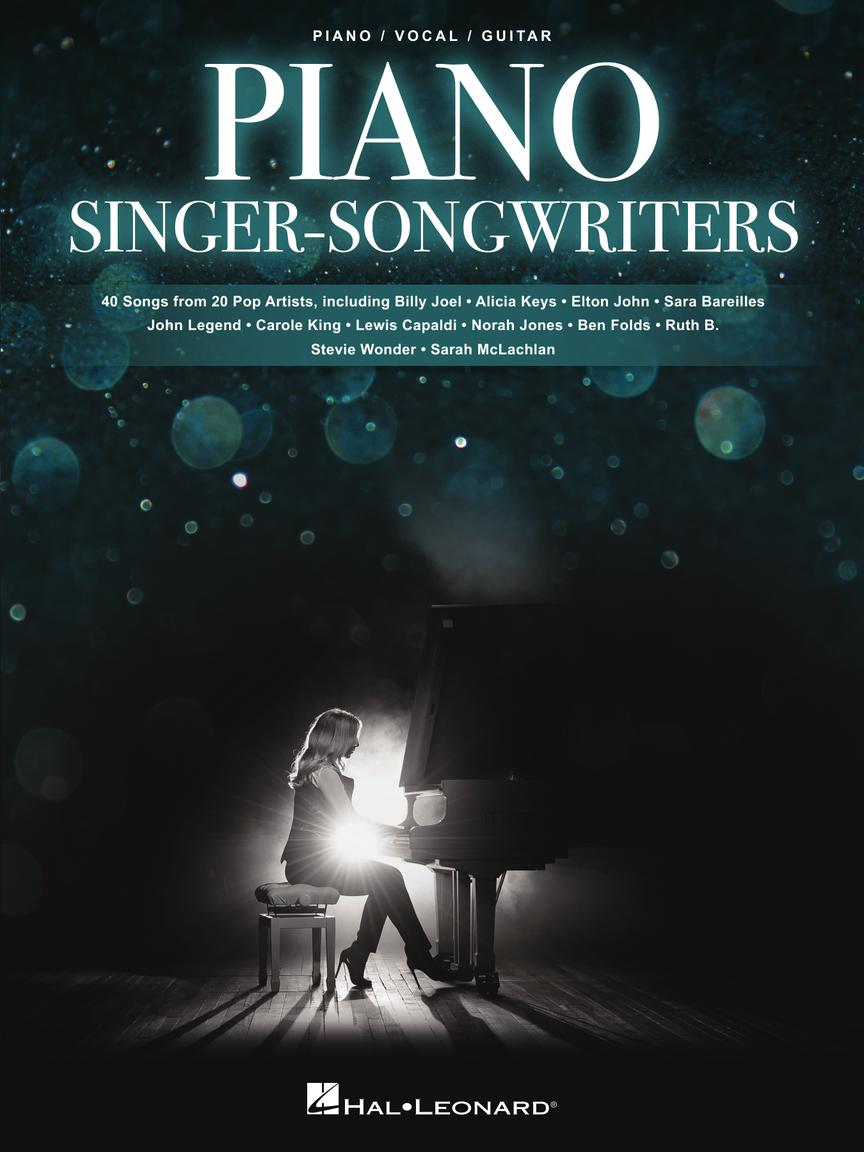 Piano Singer/Songwriters pro Piano, Vocal and Guitar