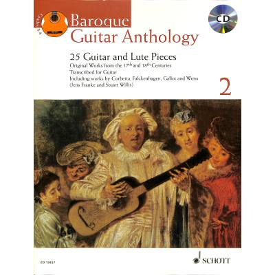 Baroque Guitar Anthology 2 Vol. 2 - 25 Guitar and Lute Pieces