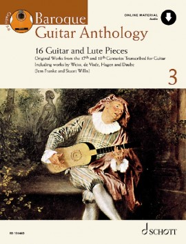 Baroque Guitar Anthology Vol. 3 - 16 Guitar and Lute Pieces