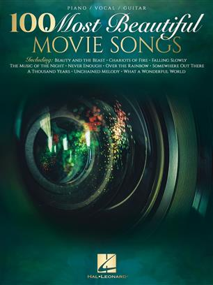 100 Most Beautiful Movie Songs pro Piano, Vocal and Guitar