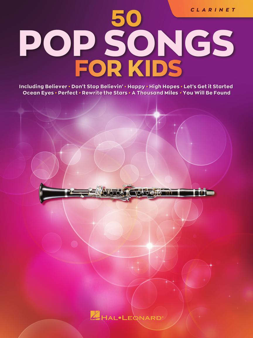 50 Pop Songs for Kids pro klarinet