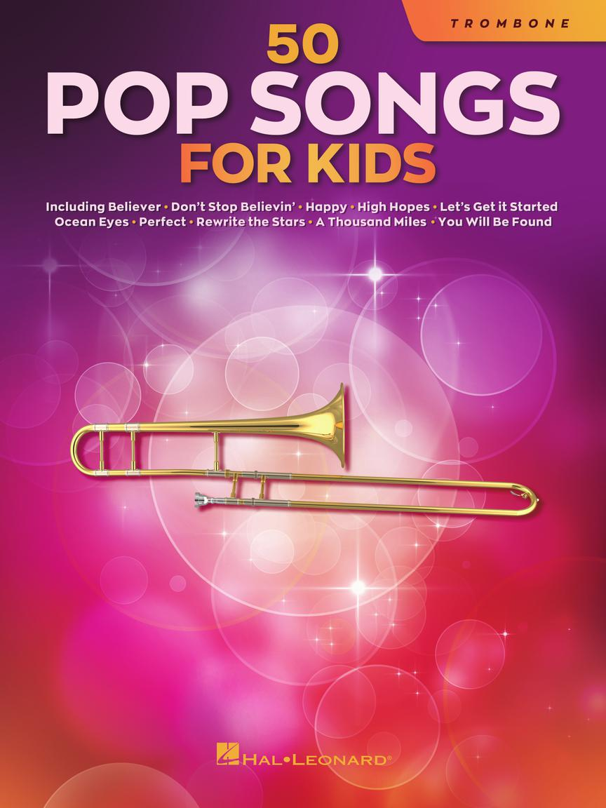 50 Pop Songs for Kids pro Trombon
