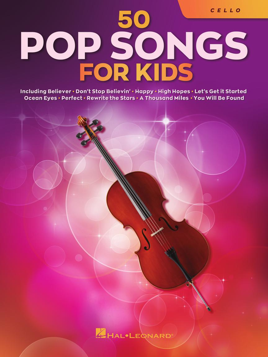 50 Pop Songs for Kids pro violoncello
