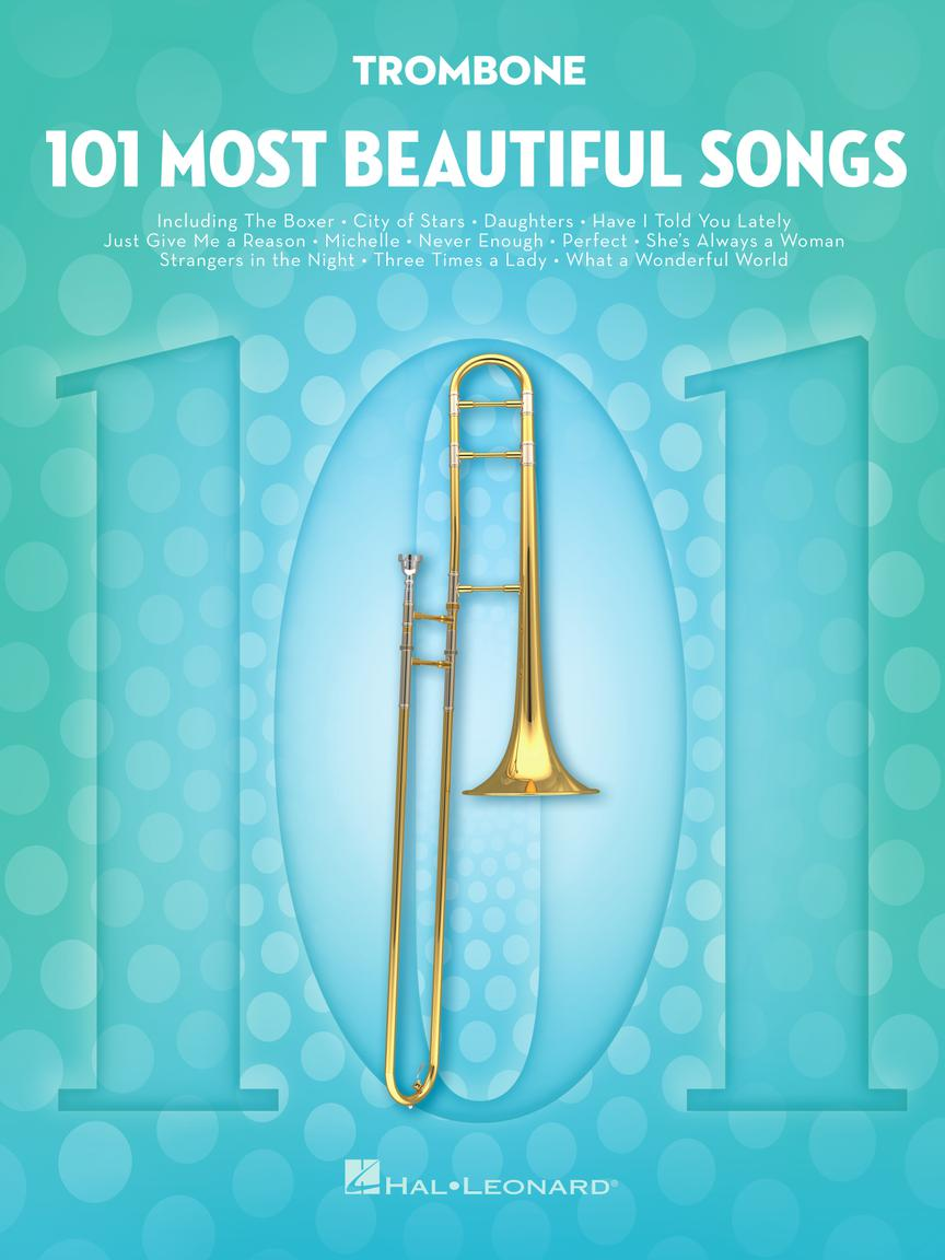 101 Most Beautiful Songs - pro Trombon