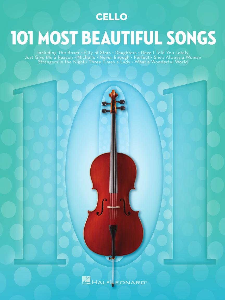 101 Most Beautiful Songs - pro Violoncello