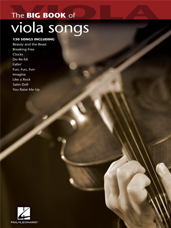 THE BIG BOOK OF VIOLA SONGS VIOLA SOLO BOOK