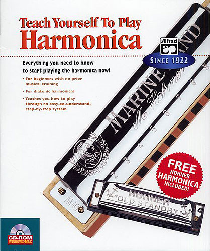 Teach Yourself To Play Harmonica CD-ROM