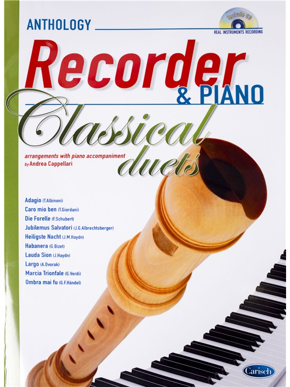 Andrea Cappellari: Classical Duets - Recorder/Piano (Book/CD)