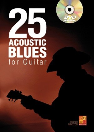 25 Acoustic Blues For Guitar (Book/DVD)